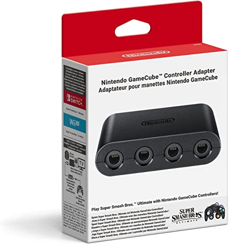 Switch Adaptador para GameCube Controller: Amazon.es: Videojuegos
