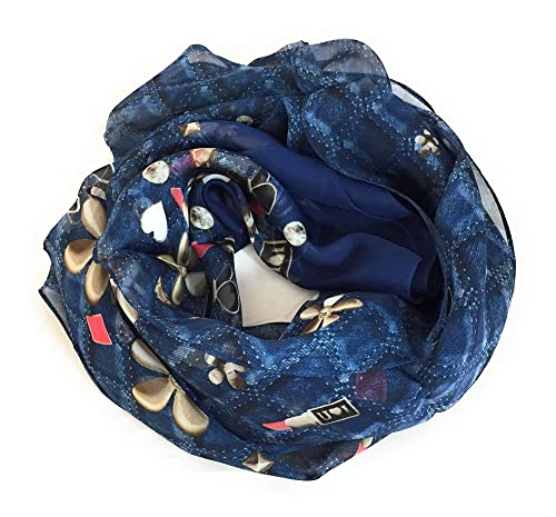Guess - Pashmina - para mujer Azul denim Talla única
