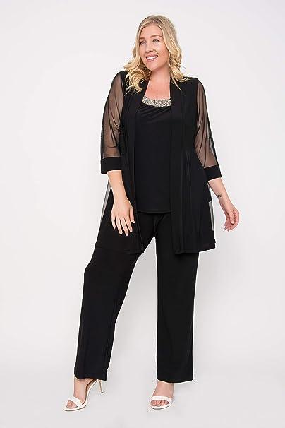 Amazon.com: R&M Richards - Traje de pantalón largo formal ...