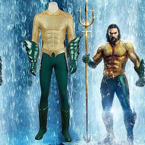 Cosplay Ropa Disfraz Aquaman Conjunto Mono De La Navidad De ...