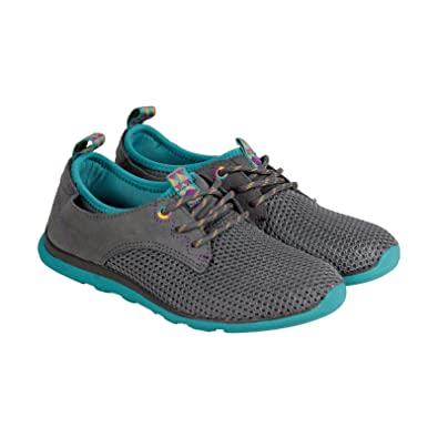 1d1e5b9489cdc Amazon.com | Cushe Women's Shakra Casual Lace Up Shoes Dark Grey ...