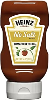 product image for Heinz No Salt Tomato Ketchup, 14 Ounce -- 6 per case.