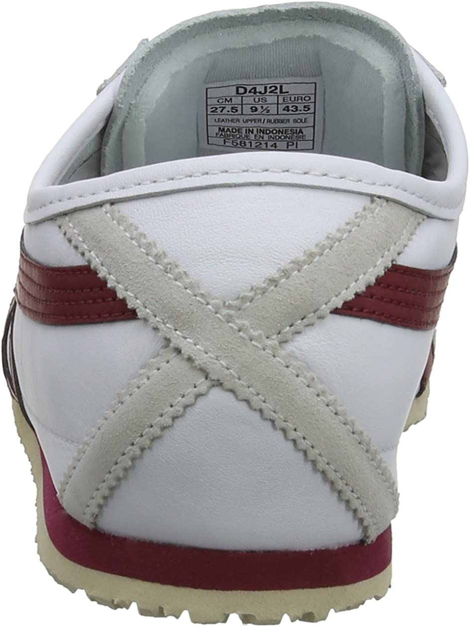 Onitsuka Tiger Unisex-Erwachsene Mexico 66 Low-Top Mehrfarbig (0125-10)