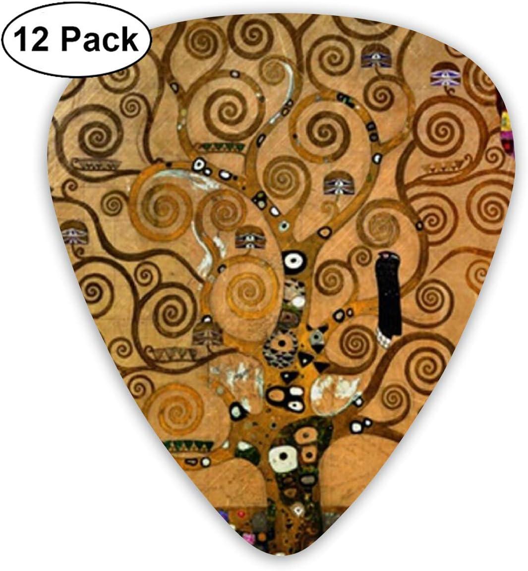 ukul/él/é /électrique M/édiators color/és Klimt Arbre de vie pour guitare acoustique basse