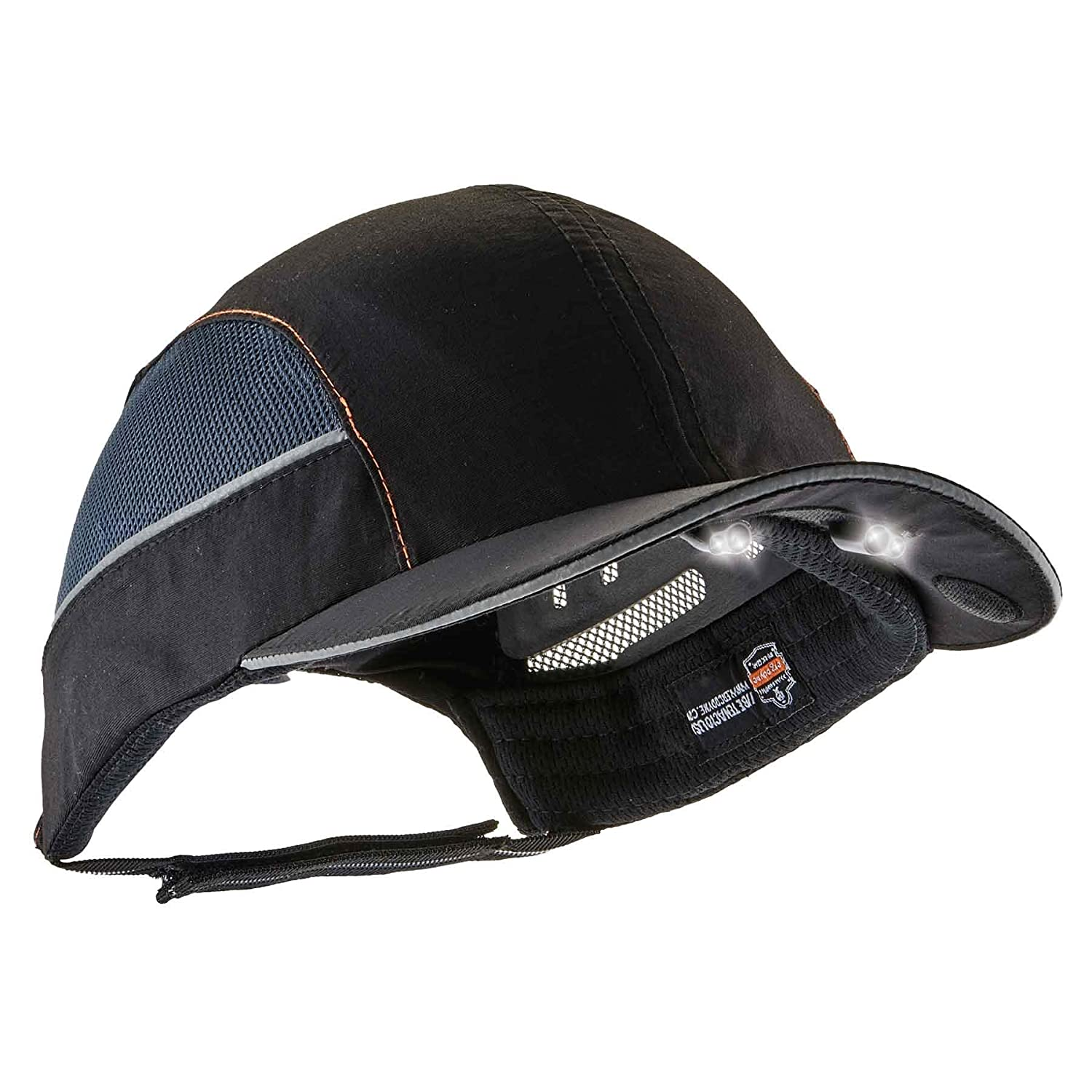 3aae2a5042b86 Safety Bump Cap with LED Brim Lighting