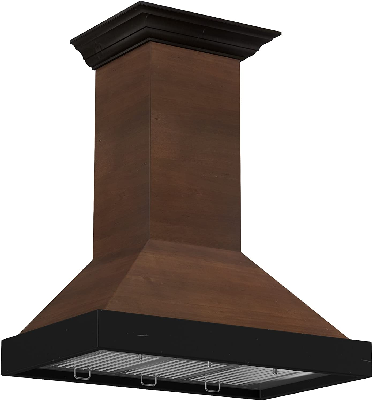 ZLINE Designer Series campana de madera para montar en la pared (serie KBAR/RR): Amazon.es: Grandes electrodomésticos