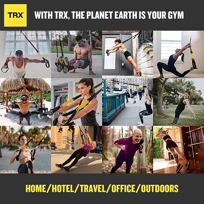 金盒特价 TRX PRO3 悬架式健身训练器套装 6折$119.95 海淘转运到手约¥956