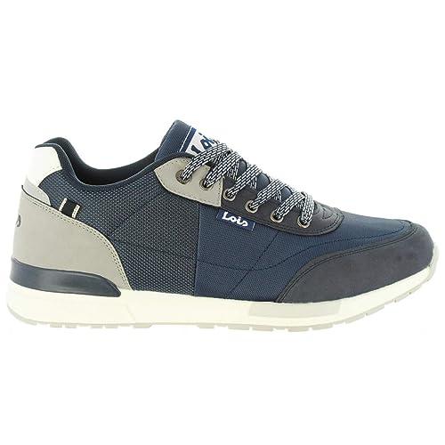 Zapatillas Deporte de Hombre LOIS JEANS 84829 107 Marino: Amazon.es: Zapatos y complementos