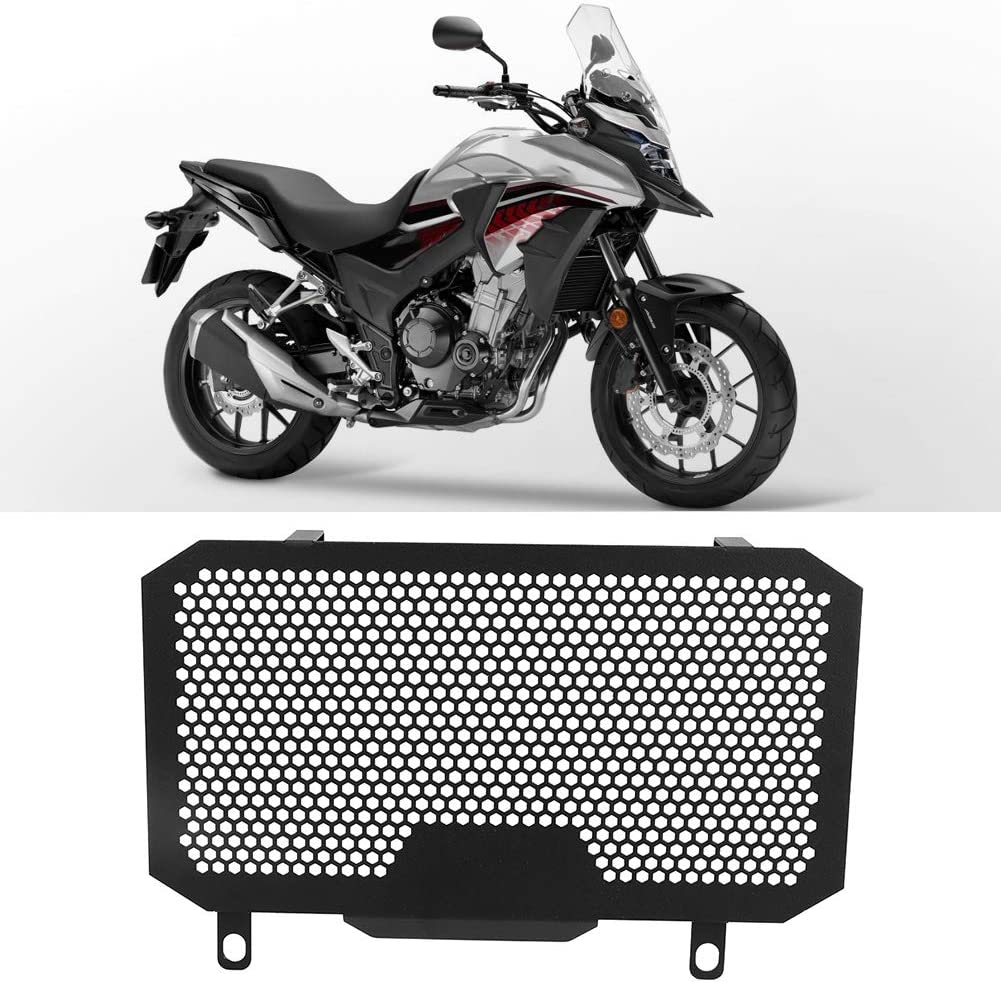 KIMISS Cubierta protectora neta del tanque de agua Accesorio de motocicleta apto para CB500X 2013-2018