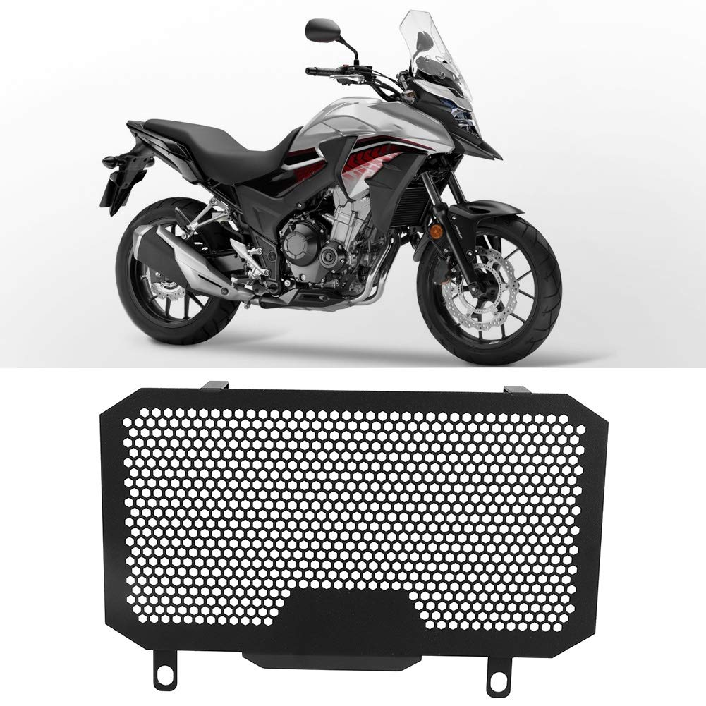 cubierta protectora de red de tanque de agua de motocicleta Accesorio de moto apto para CB500X 2013-2018 Yctze Red de tanque de agua