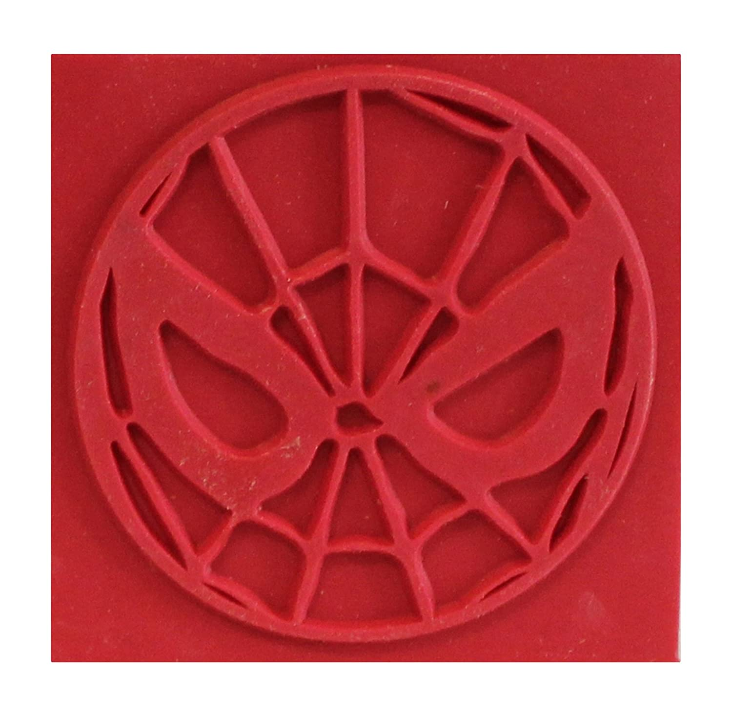 Rubber Stamp Marvel Comics Retro Spiderman Spidey Icon