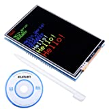 Kuman Arduino UNO R3 3.5 inch TFT Touch Screen with SD Card Socket w/Tutorials in CD for Arduino Mega2560 Board SC3A-1 (Color: 3.5 inch screen)