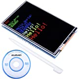 Kuman Arduino UNO R3 3.5 inch TFT Touch Screen with SD Card Socket w/ Tutorials in CD for Arduino Mega2560 Board SC3A-1