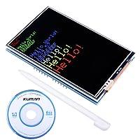 Kuman Ecran Tactile UNO R3 3.5 TFT avec Carte SD pour Arduino Module Mega 2560 avec Fonction Tactile SC3A-1