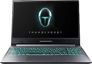"ThundeRobot Gaming Laptop - Intel Core i7-10750H 6 Core Gamer Laptop,GTX1650Ti Gaming Notebook, 16GB RAM, 512GB NVMe SSD+1 TB HDD, Chroma RGB Keyboard, 15.6"" Full HD, Win10 MT-Blue Grey"