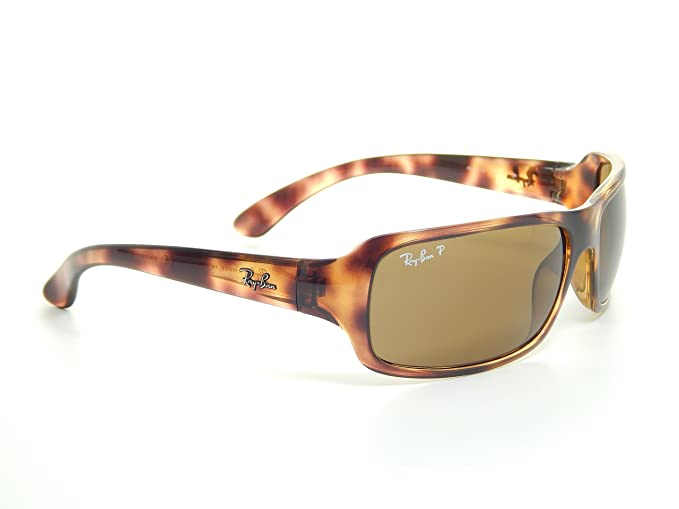 71592a5b050 New Ray Ban RB4075 642 57 Tortoise Brown Classic 61mm Polarized Sunglasses   Amazon.co.uk  Clothing