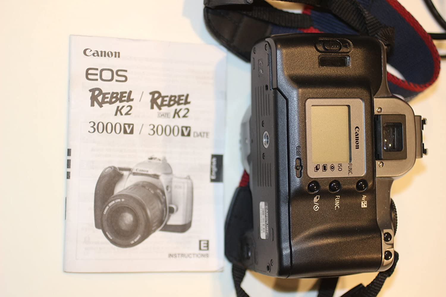 amazon com canon eos rebel k2 slr 35mm film camera with ef 28 90mm rh amazon com