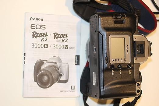 amazon com canon eos rebel k2 slr 35mm film camera with ef 28 90mm rh amazon com Canon EOS Rebel G 35Mm Canon EOS Rebel T2i Camera