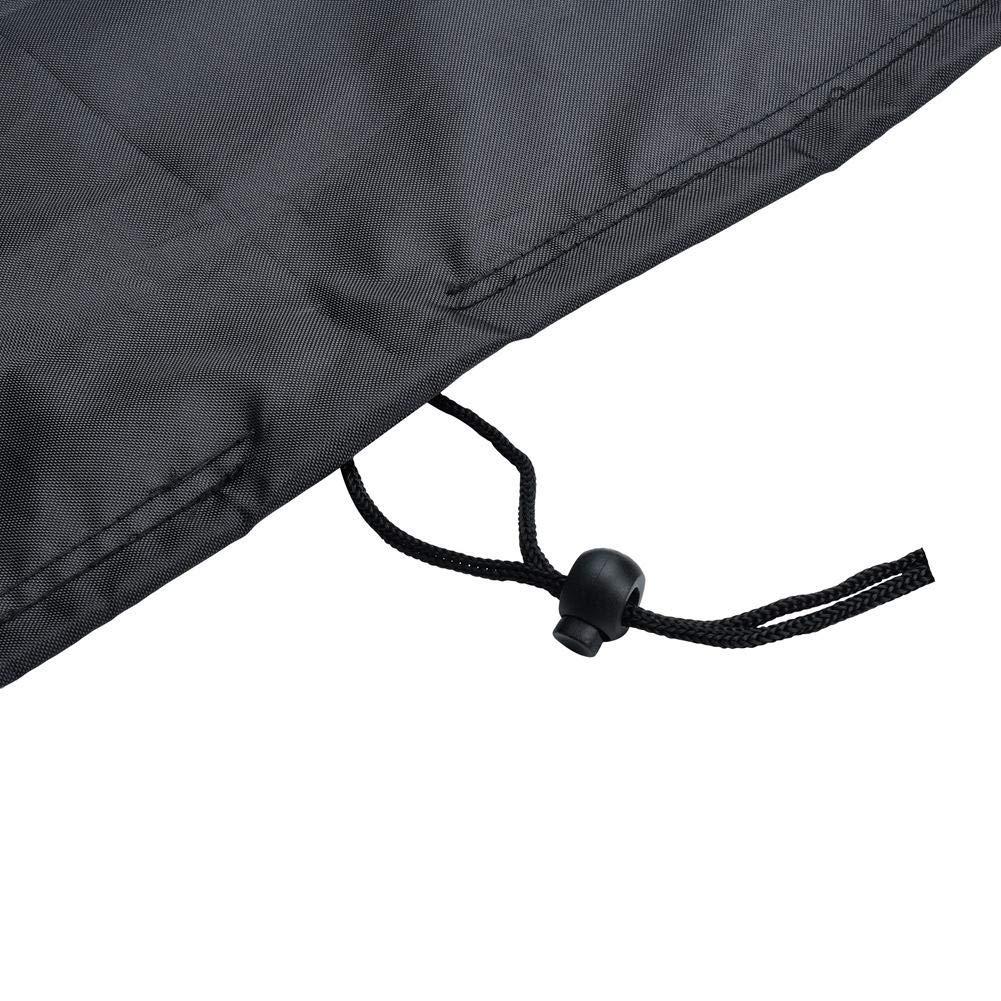 Cubierta de Polvo para Mesa de Billar Tela 210D Oxford Impermeable Cubierta Completa de Mesa de Billar con Billar con cord/ón Ajustable 7//8//9 ft