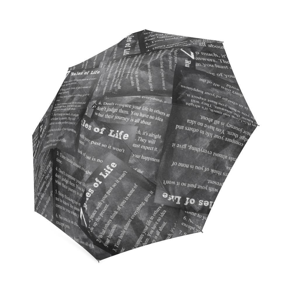 7ルールのLifeコンパクト折りたたみ式傘太陽雨トラベル傘紫外線対策DIY傘   B072F6SWTD