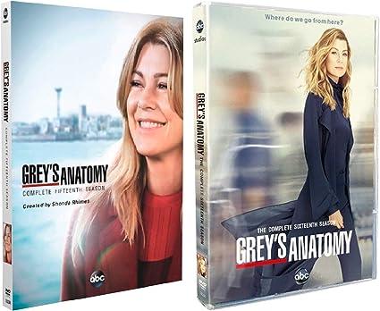 Dvd De La Temporada 15 Y 16 De Anatomía De Grey Home Audio Theater