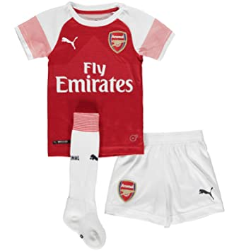 4e73c5e233bba PUMA 2018-2019 Arsenal Home Little Boys Mini Kit, Clothing - Amazon ...