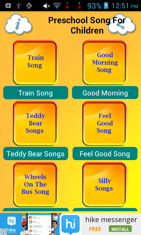 Amazon com: Preschool Song For Children: Appstore for Android
