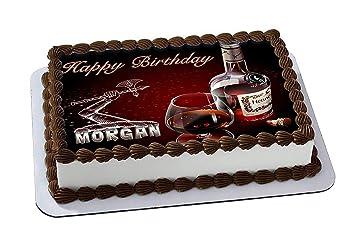 EdibleInkArt Hennessy Edible Cake Topper Personalized Birthday 1/4 ...