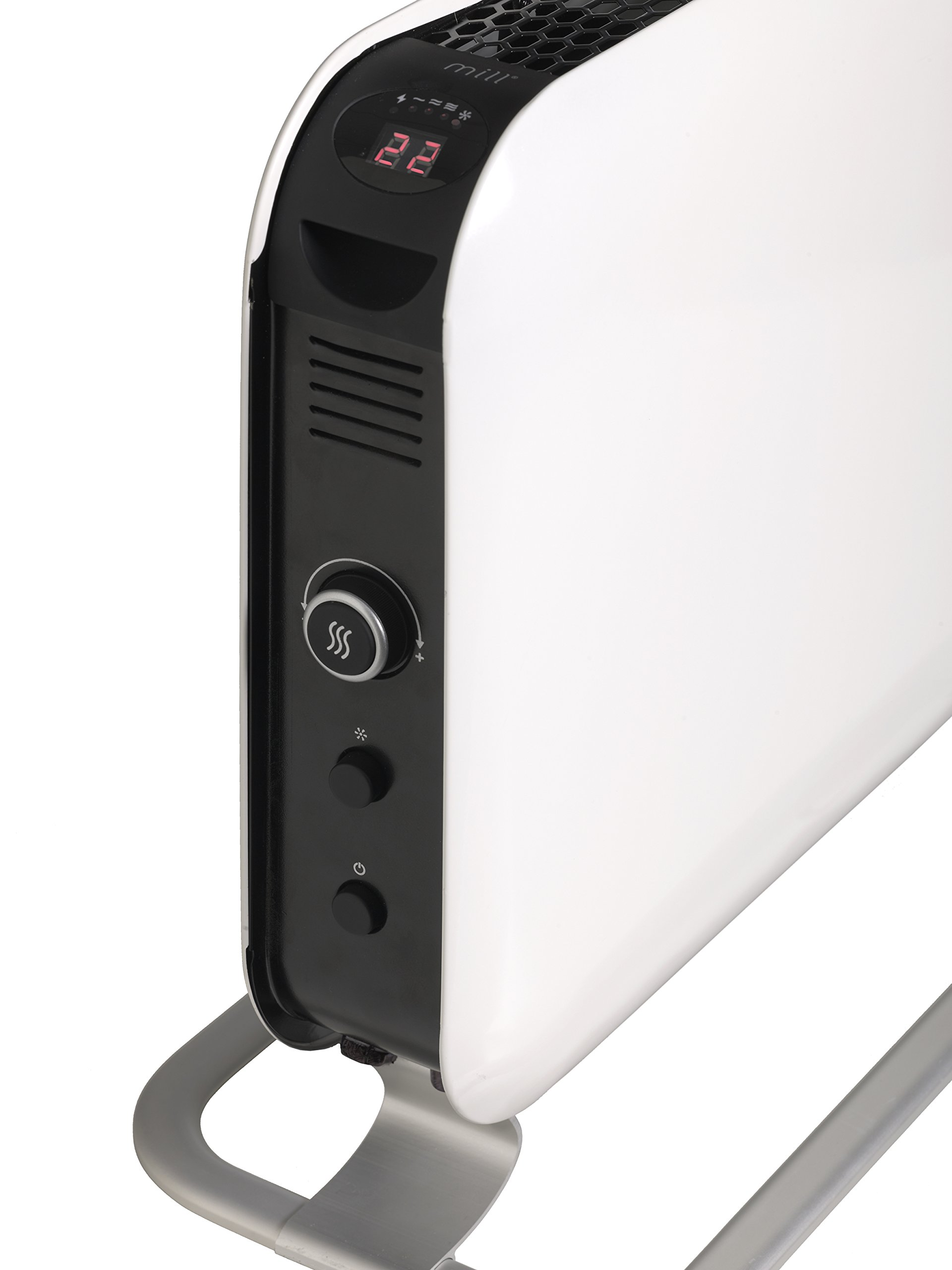 Mill Convection 1500W LED Heater, White by Mill (Image #2)
