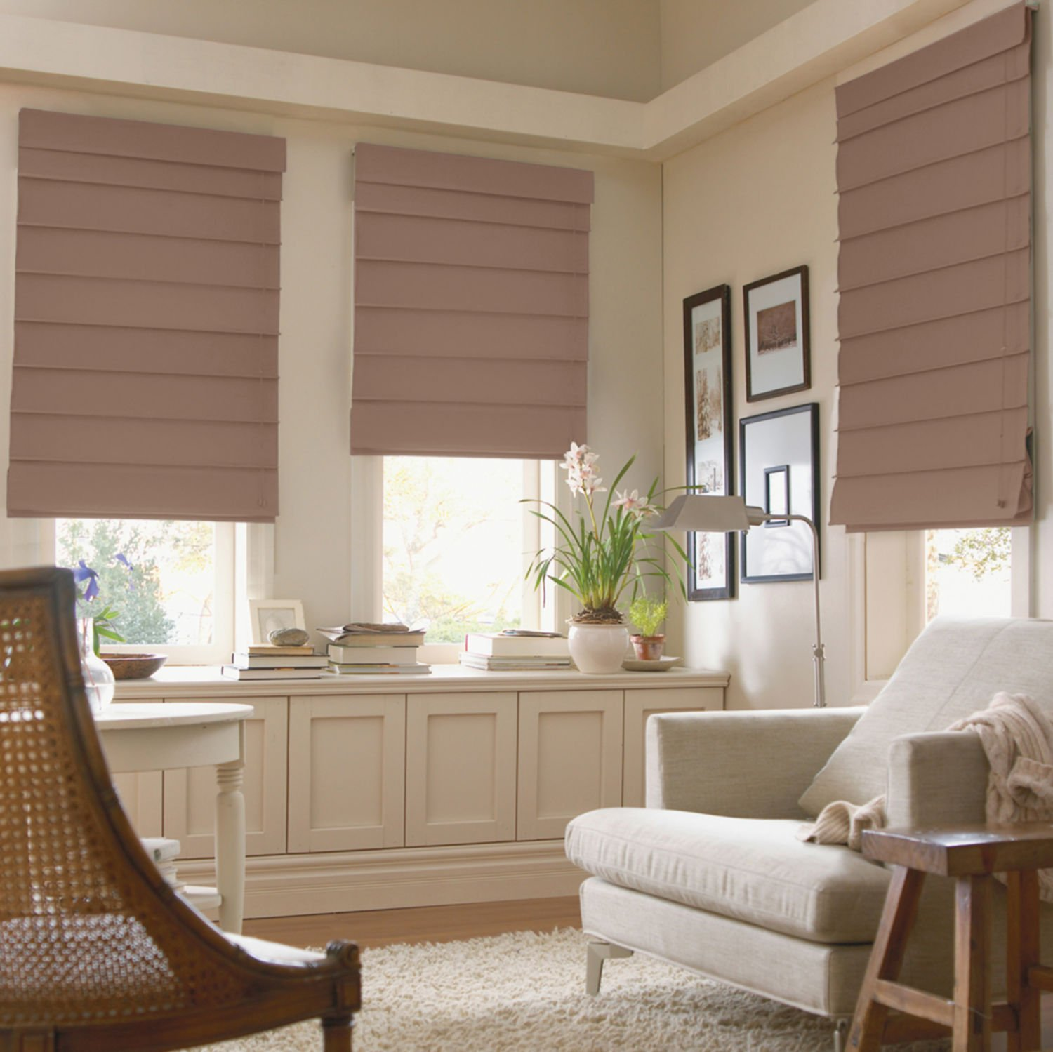 Inexpensive Patterned Roman Shades Awesome Decorating Ideas