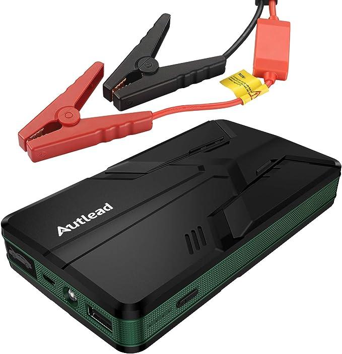 Autlead Starthilfe Powerbank Max 600a 8000mah Multifunktionales 12v Auto Starthilfe Mit Usb Quick Charge 3 0 Cbjs01a Auto
