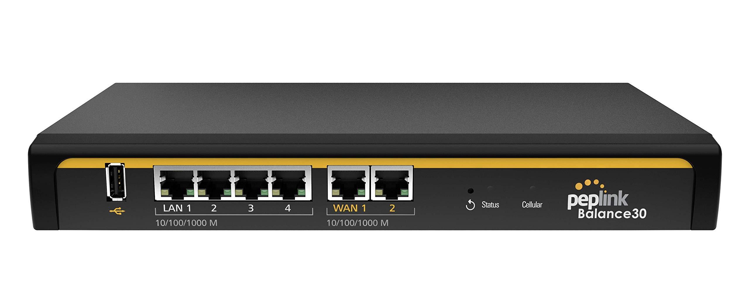 Peplink Balance 30 LTE Multi-WAN 4G LTE Router (BPL-031-LTE-A-T)