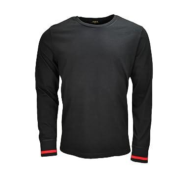 d2304d0343c3a Amazon.com  RALPH LAUREN - Haut de pyjama Ralph Lauren noir pour ...