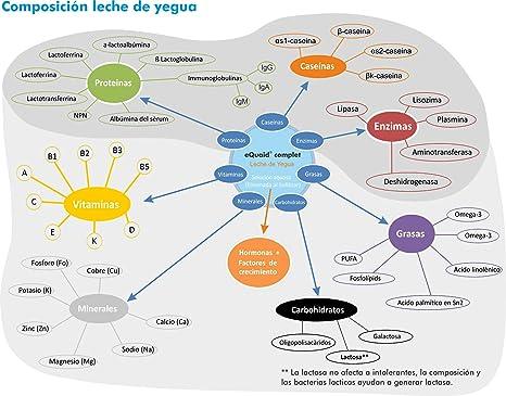 eQuaid Leche de Yegua Liofilizada - 18 Sobres