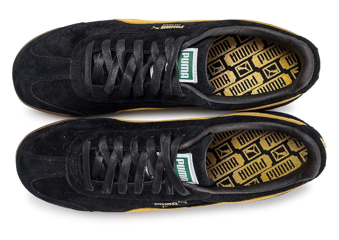 Noire Gents Puma Homme Jaune Chaussures Et Baskets Roma