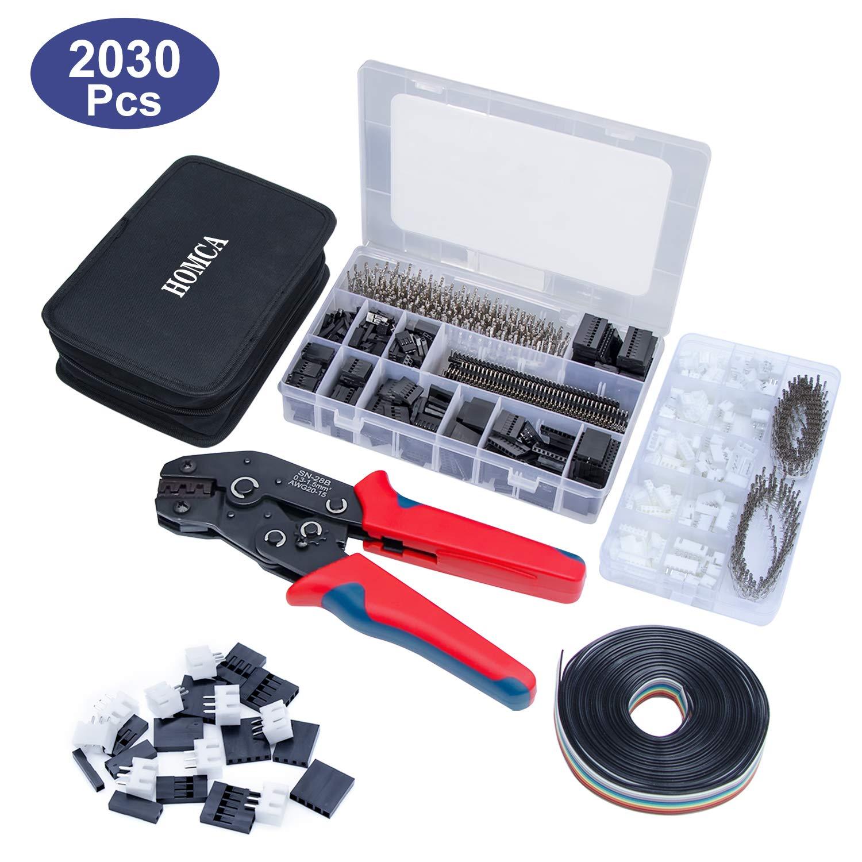 Crimpzange Dupont Stecker Set SN-28B Crimping Tool mit 2030pcs Dupont