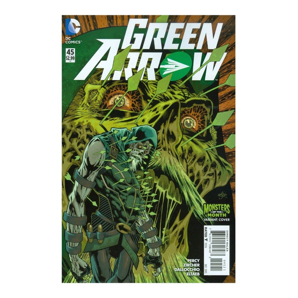 Green Arrow #45 Monsters Variant Cover pdf epub