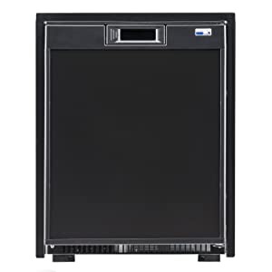 "Norcold Nr740Bb Dc Refer 1.7 Cu Ft, 20-1/2"" x 18-1/2"" x 21-1/16"" Black"