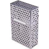 Etui à cigarettes en aluminium (10cm x 6.7cm x 1.5cm), mat, Focus 773-2 DE