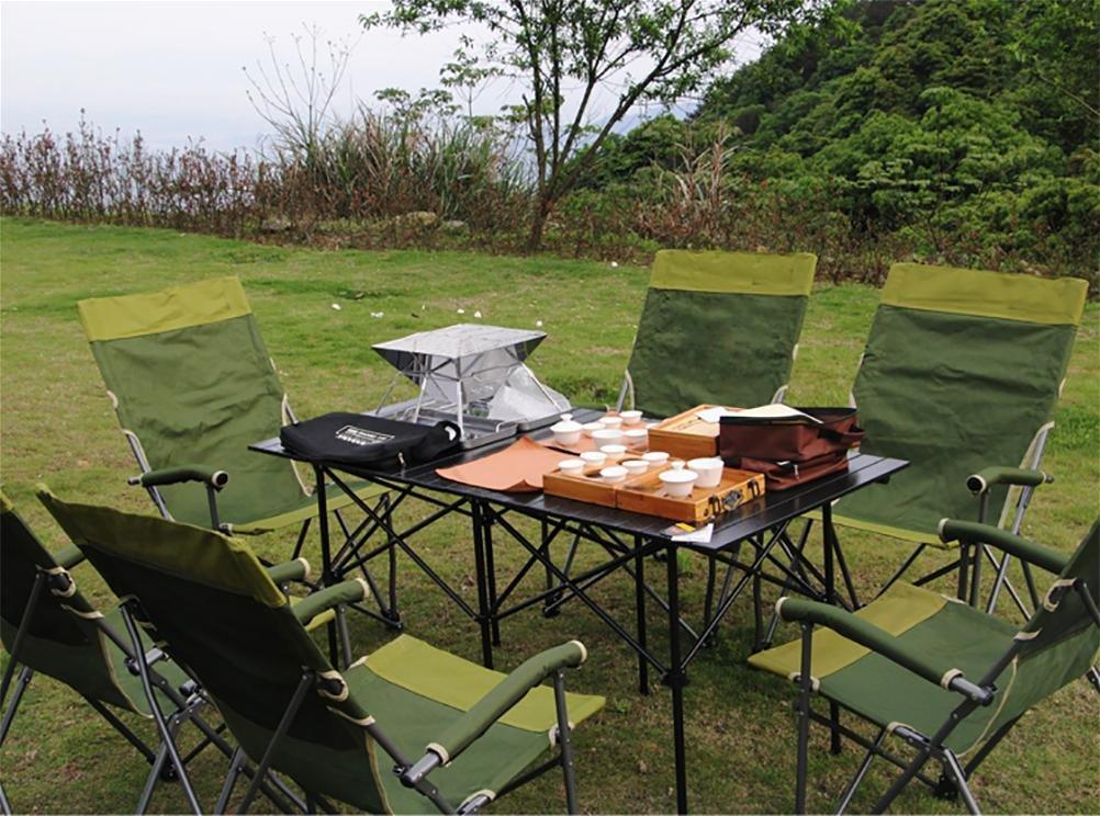Ruirui Tragbare Klapphocker Klapphocker Klapphocker Outdoor-Freizeit-Angeln Strand Grill Garten 1a20a8