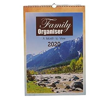Amazon.com: Arpan - Calendario de un mes a la vista (tamaño ...