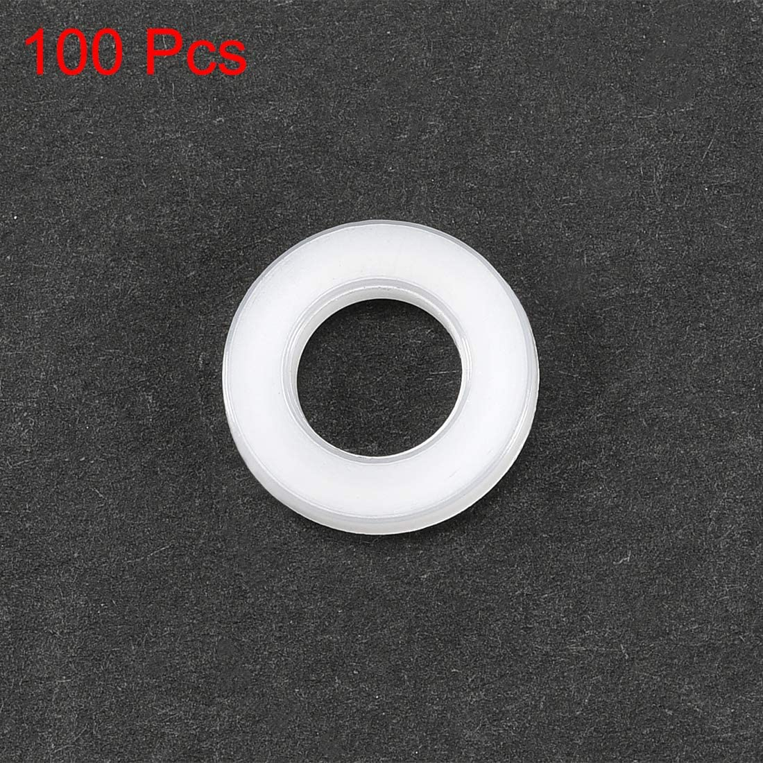 Qty of 10 Conical Washers M4 Plastic Insulating