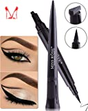 Ladygo Vamp stamp eyeliner facile da trucco Eye Wing Liners 3 in 1 Liquid disegno Eyeliners francobolli 1 secondo make up Tool