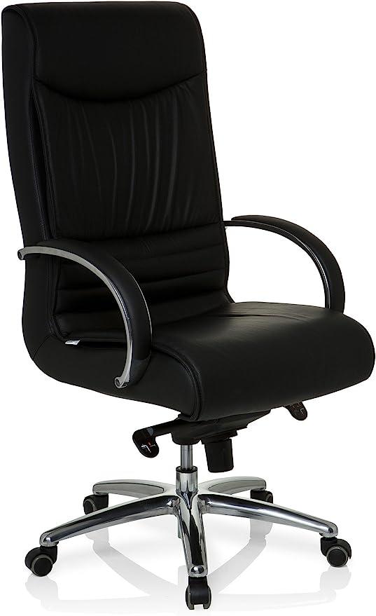 Bürostuhl Chefsessel Drehstuhl Schwarz Sessel Büromöbel VEMONA 20 hjh OFFICE