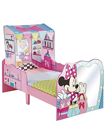 Disney Minnie Mouse Toddler Bed and Canopy by HelloHome Amazonco
