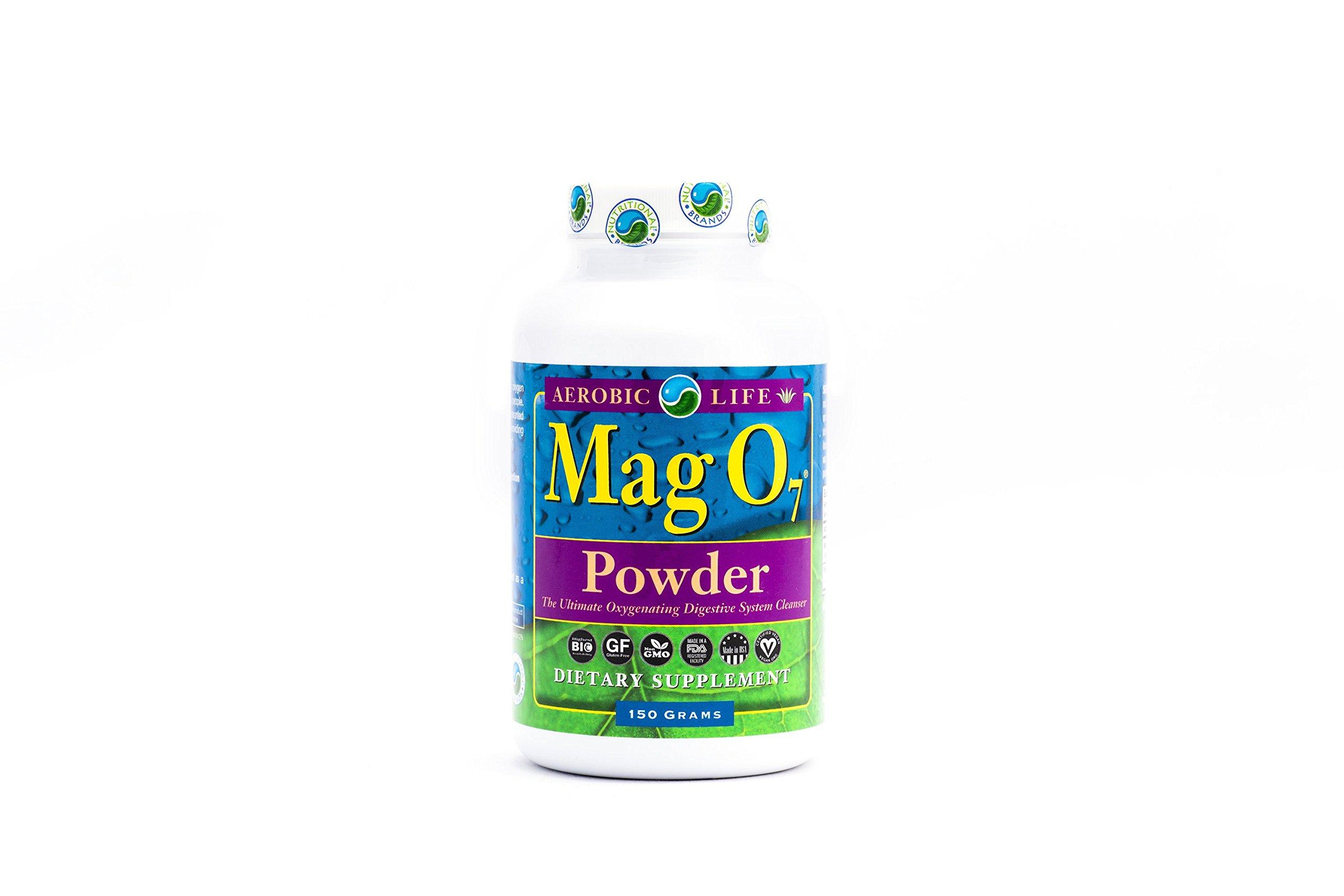 Aerobic Life Mag 07 Oxygen Digestive System Cleanser Powder, 150 Gram by Aerobic Life