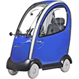 Shoprider - Flagship - Mid-Size Fully Enclosed Scooter - 4-Wheel - Blue - PHILLIPS POWER PACKAGE TM - TO $500 VALUE