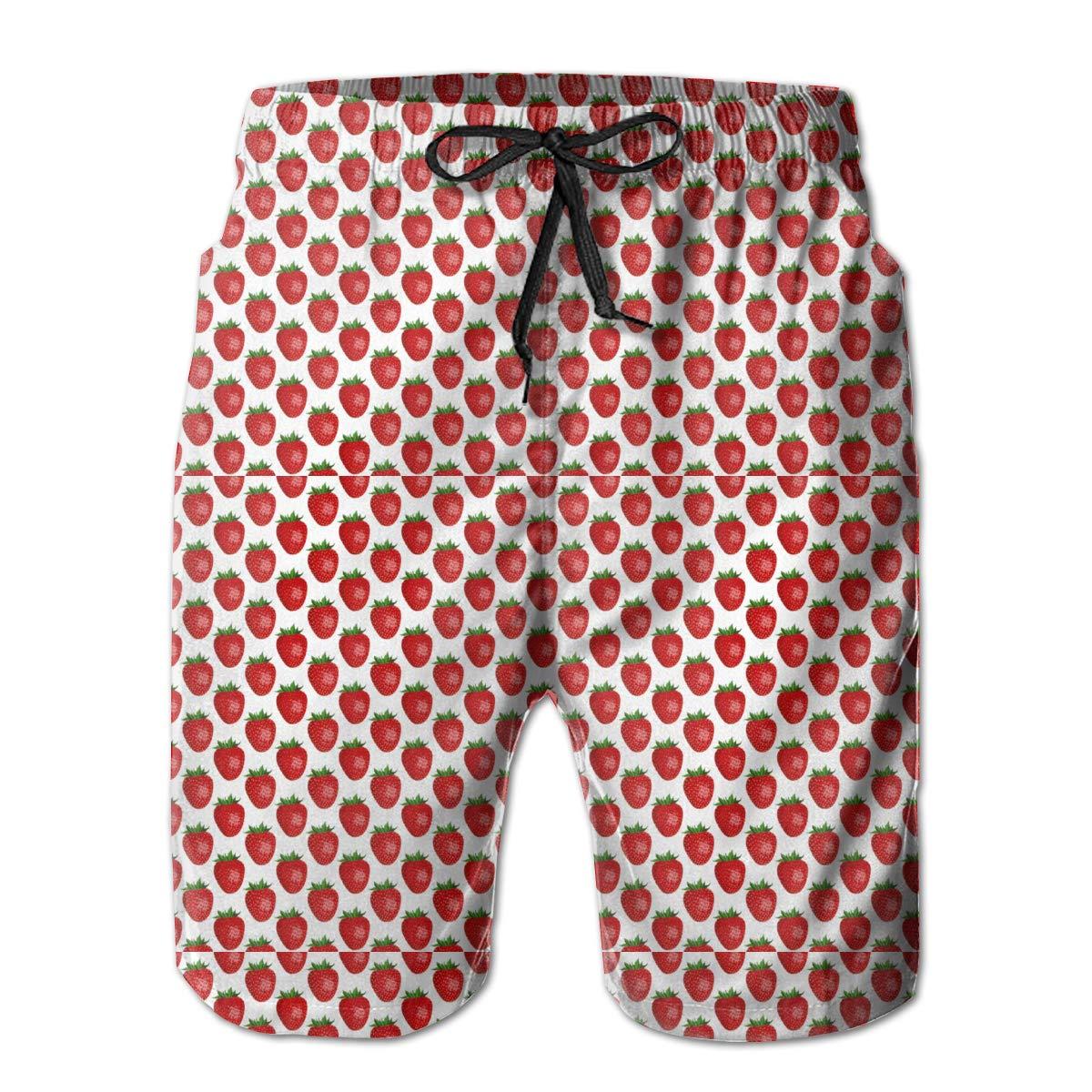 Jngjs Mens Quick Dry Sports Shorts with Drawstring Beach Shorts