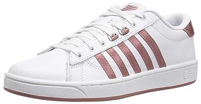 0917abc8c096 K-Swiss Women s Hoke CMF Sneaker White Old Rose 5 ...