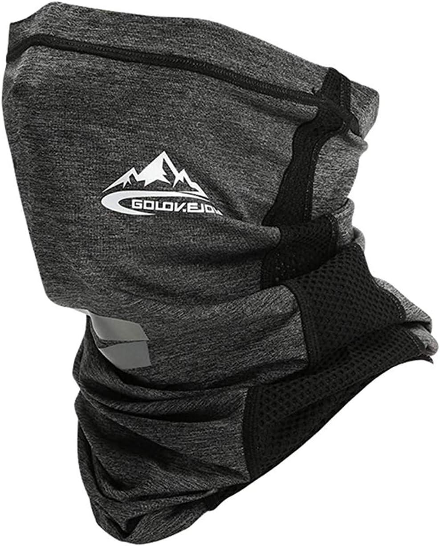 Golovejoy Face Shield Windproof Cotton Face Summer Bandana Ultimate UV Protection Neck Gaiter Sun Protection Elastic